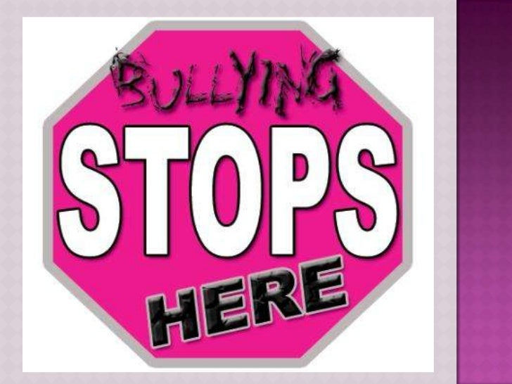 Bullying slideshow