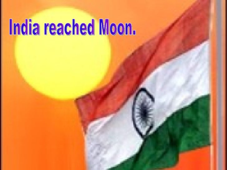 India reached Moon.