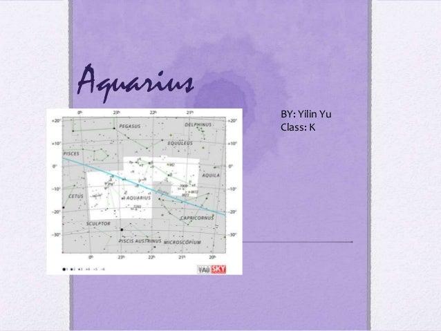 AquariusBY: Yilin YuClass: K