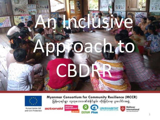 An Inclusive Approach to CBDRR 1