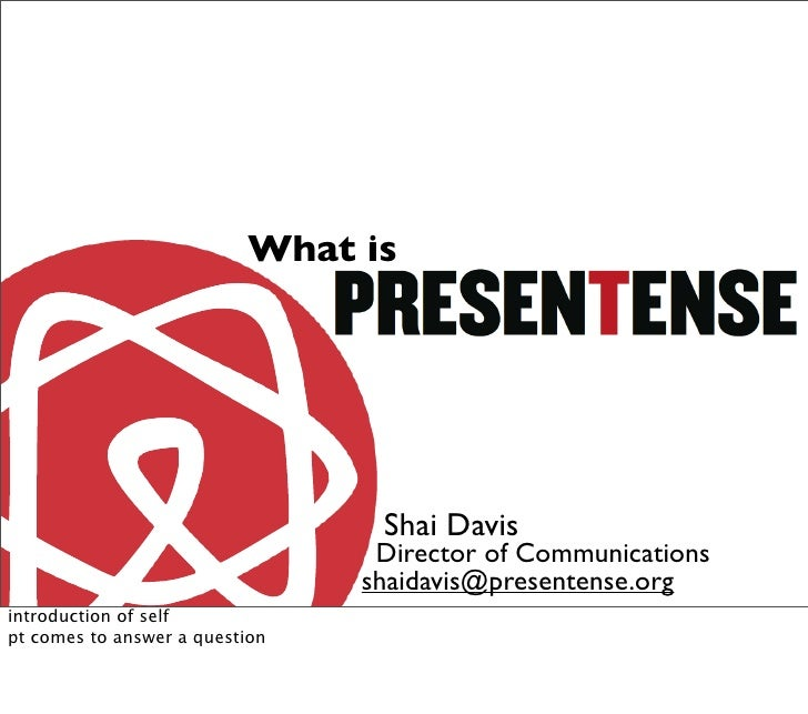 What is                                      Shai Davis                                  Director of Communications       ...