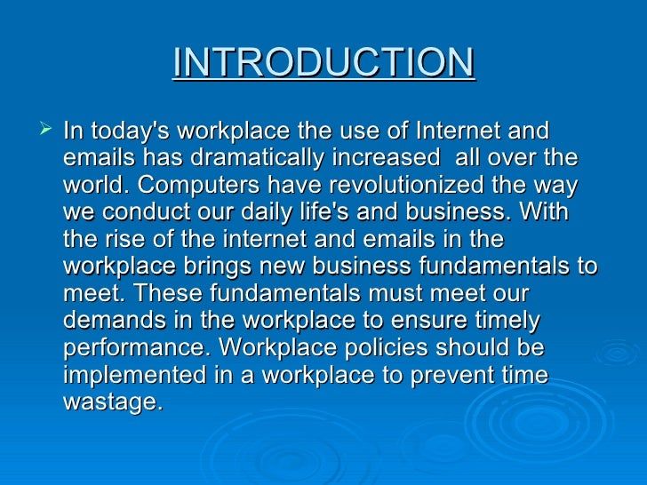 essay about internet and email