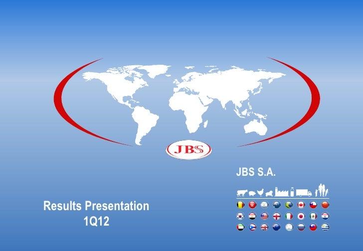 Presentation 1 q12 conference call