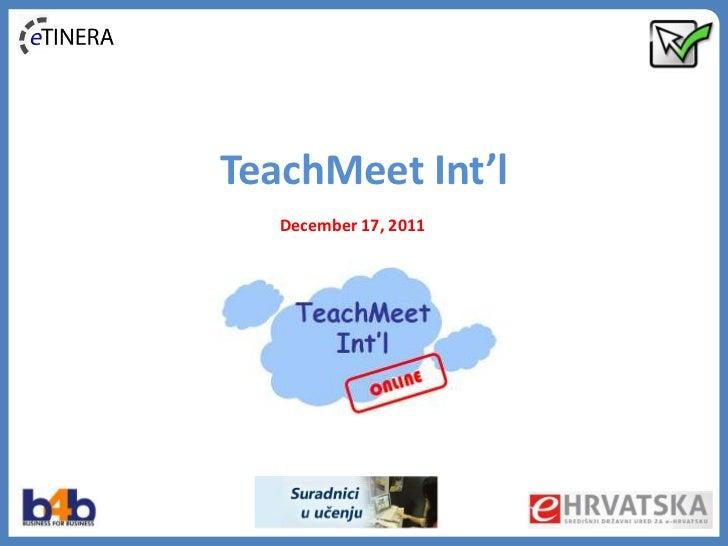 TeachMeet International