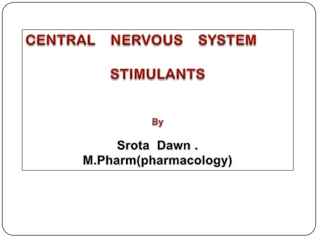 The CNS stimulants mostly produced a generalized action which may Produce convulsion at higher doses.