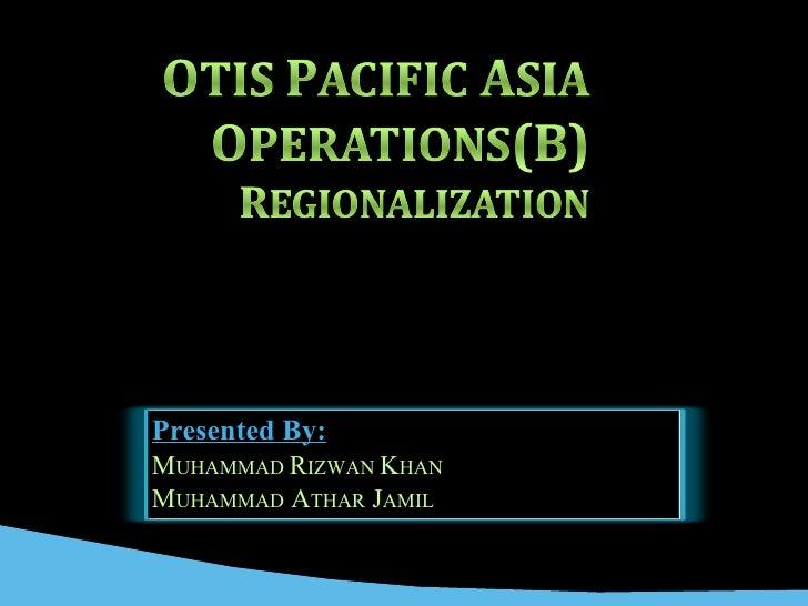 OTIS (Pacific asia Operations)