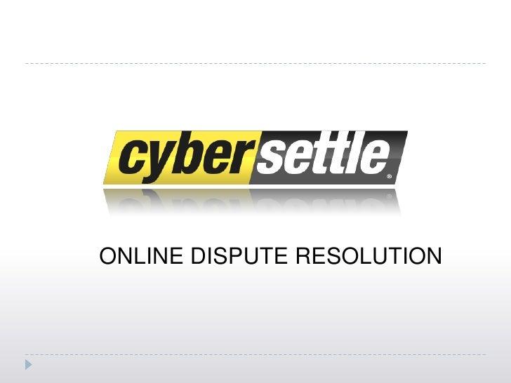 Cybersettle Walkthrough