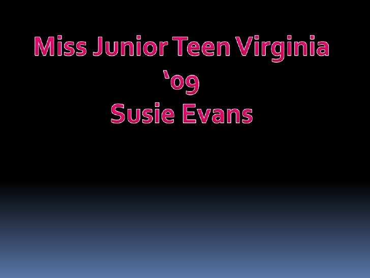 Miss Virginia Jr Teen
