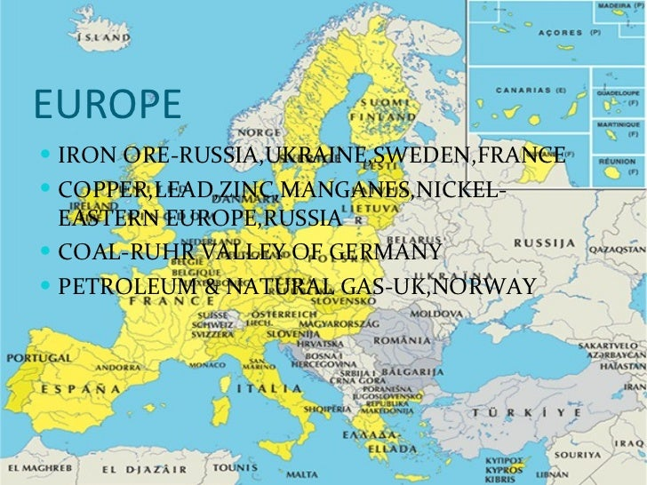 What Are The Natural Resources Of Europe And Russia