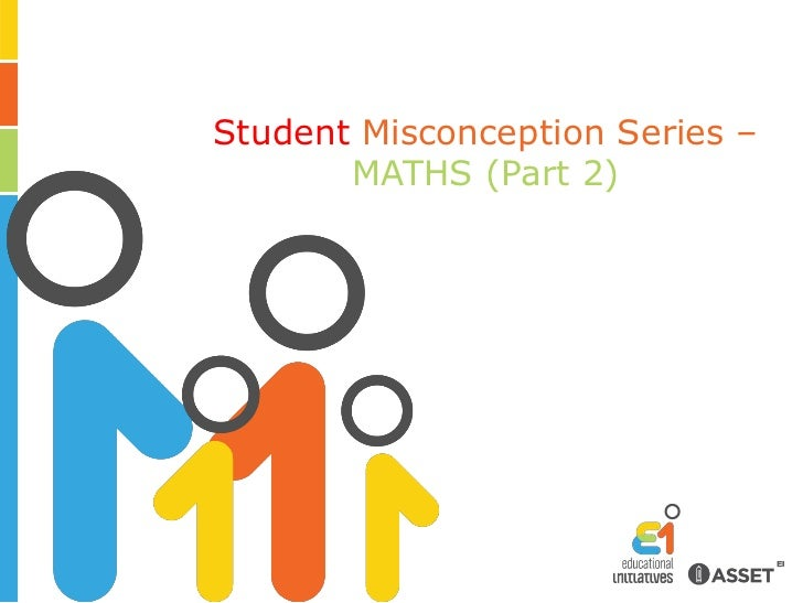 Student Misconception Series – Maths (Part 2)