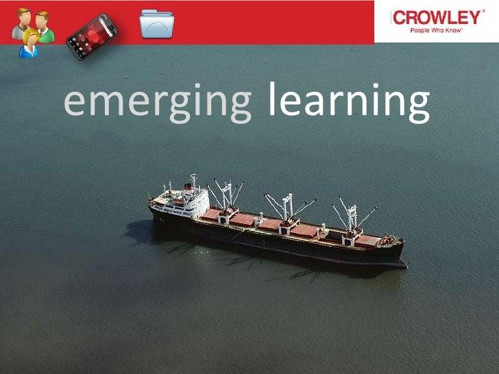emerging learning