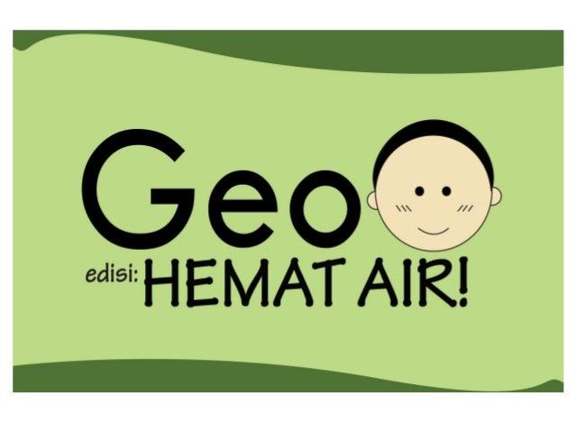 Serial Komik Geo #2: HEMAT AIR