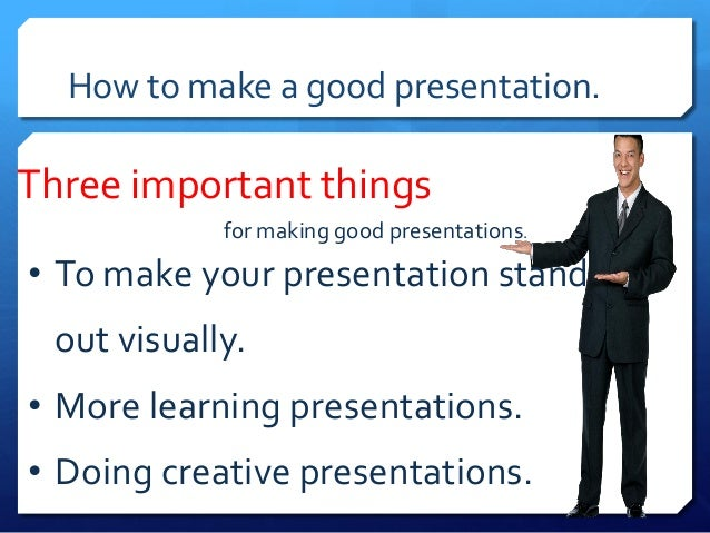 how to prepare for a presentation essay Developing an organized presentation starts with your introduction the introduction opens your speech  to work, the story needs to make a point or contain a message that you can tie to the talk that follows make a bold statement this technique involves a brief, thought-provoking statement that sets up your topic if you say it with a.