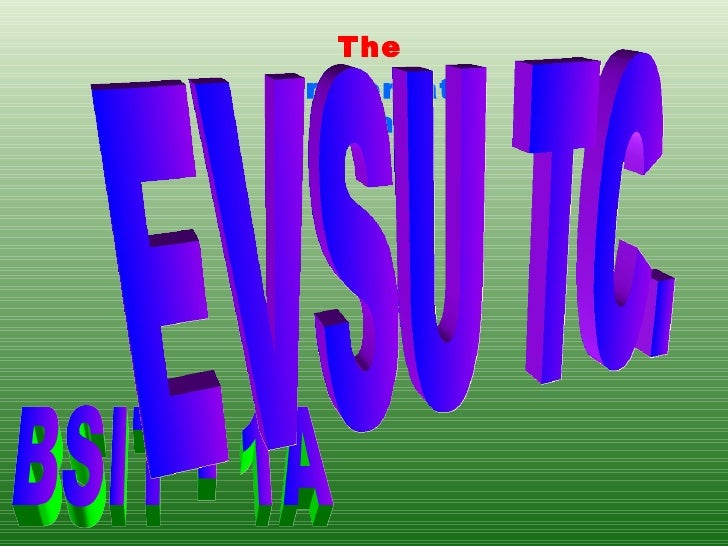 The Presentation of BSIT - 1A EVSU TC.