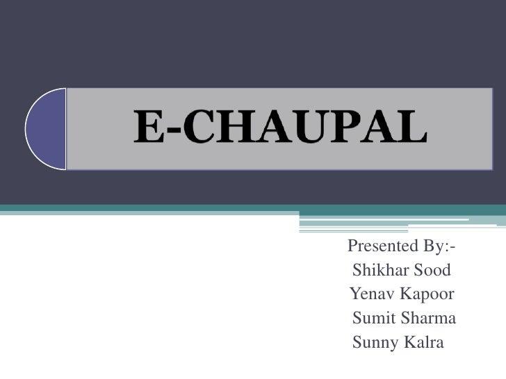 Presented By:- Shikhar Sood Yenav Kapoor Sumit Sharma Sunny Kalra