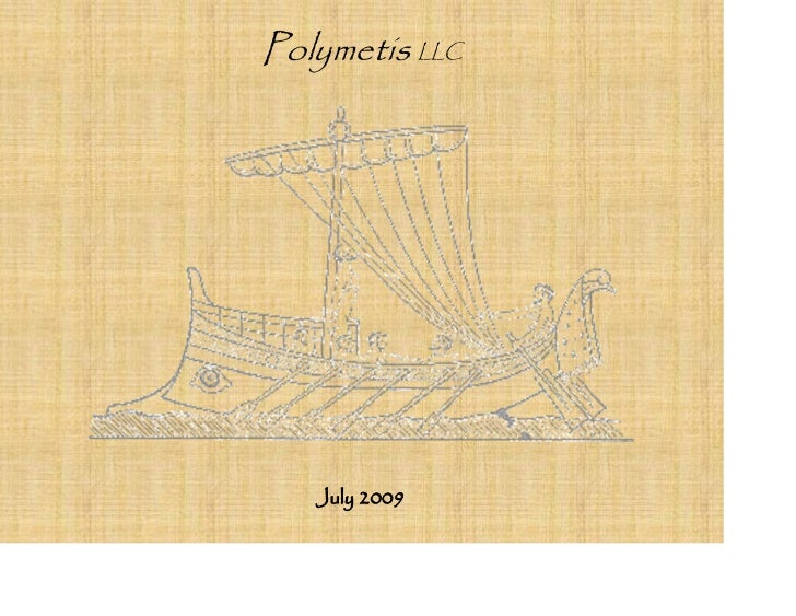 Polymetis LLC        July 2009