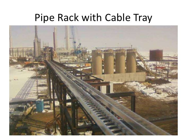 Pipe Rack Cable Trays Pipe Rack With Cable Tray