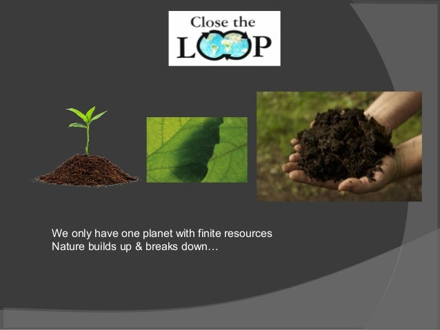 Global Landscapes Conference 2014, Presentation by Close the Loop Company