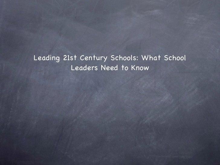 Presentation%2021st%20 century%20schools