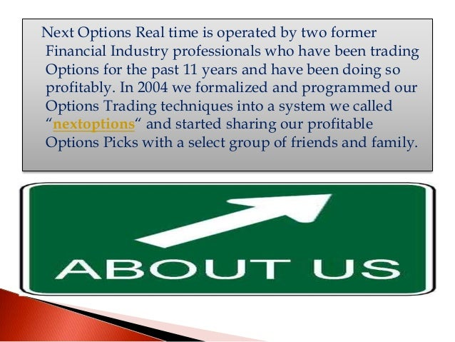 Options trading performance tracking