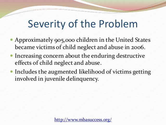 effects of child abuse on juvenile
