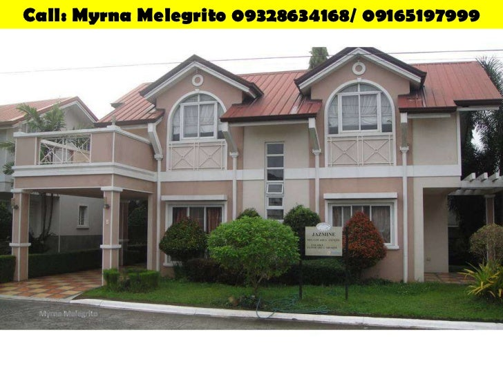 House & Lot Jazmine 154SQM 4BR Single Detached Cavite Flood-Free