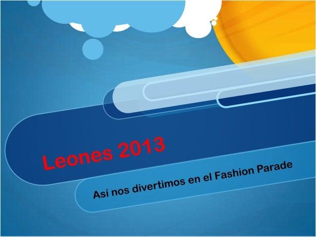 Lleones 2013