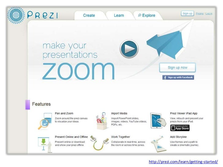http://prezi.com/learn/getting-started/