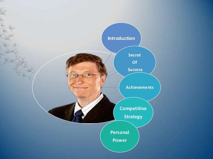 Bill gates essay paper