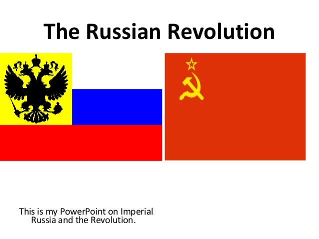Background to the Russian Revolution