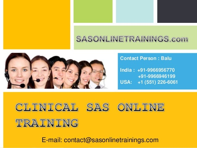 SAS Training and Placement in USA, CANADA