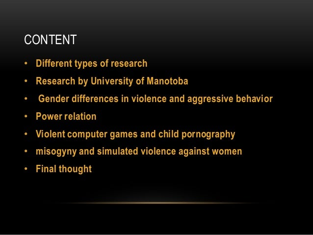 the negative effects of media violence The studys of violence in mass media analyzes the degree of correlation  between themes of  this decline cannot be attributed to a causal effect, they  conclude that this observation argues against causal harmful effects for media  violence.