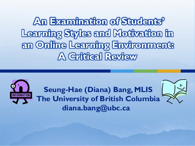 Seung-Hae (Diana) Bang, MLIS The University of British Columbia diana.bang@ubc.ca