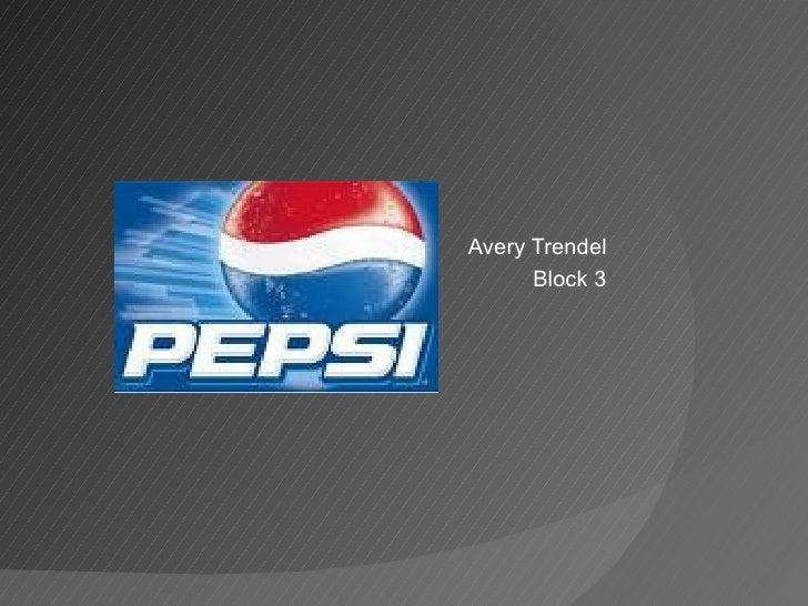 Presentation3 Pepsi