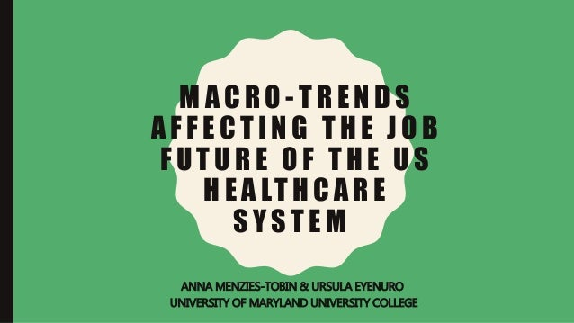 future trends in healthcare This paper outlines the structure of healthcare in canada and describes trends in  health expenditures particular attention is paid to trends in canada's most.