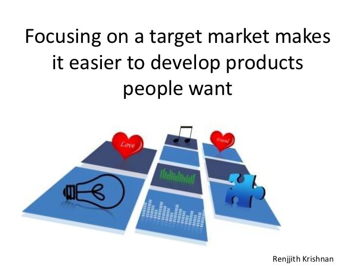 an introduction to the identification of demand in the target market Market research techniques: primary and secondary market an introduction to market research, explore then 2) primary and 3) secondary market market research is a term that is used to refer to a process of gathering or collecting information about target audience or target market.