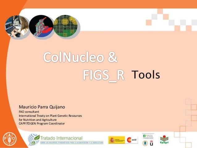 Mauricio Parra Quijano FAO consultant International Treaty on Plant Genetic Resources for Nutrition and Agriculture CAPFIT...