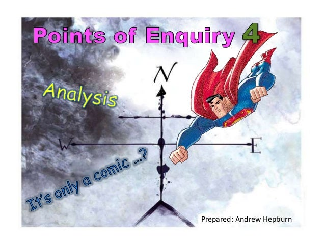 ahepburn MDES PRES4 Analysis Its only a Comic