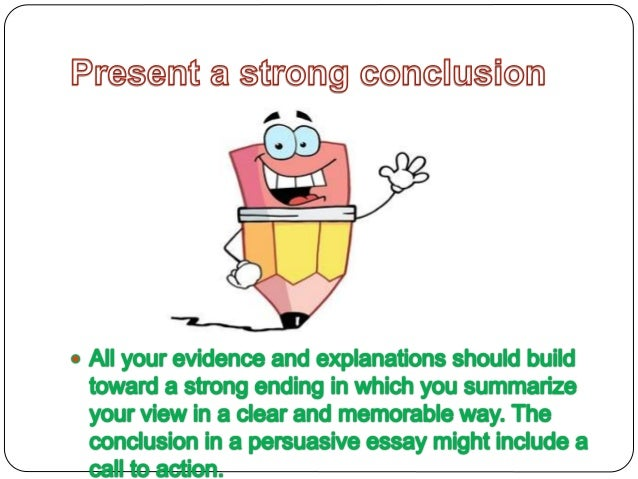 conclusions on argumentative essays
