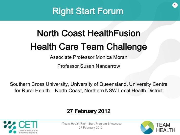 Presentation 5 - HealthFusion Health Care Team Challenge