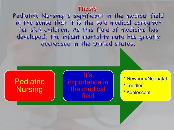 paediatrics thesis Pediatric thesis statement compare and contrast geriatric and pediatric patient pathology comparison essay nowadays, it is extremely important for a physician to be able to diagnose the pathology correctly so he is able to provide effective treatment and well-timed medical interference.