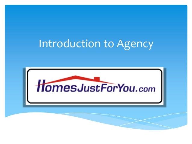Presentation 6 hjfy intro to agency