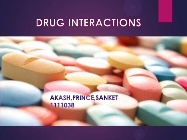 OUTLINE    DRUG INTERACTIONS - INTRODUCTION   DRUG – DRUG INTERACTIONS    FOOD – DRUG INTERACTIONS