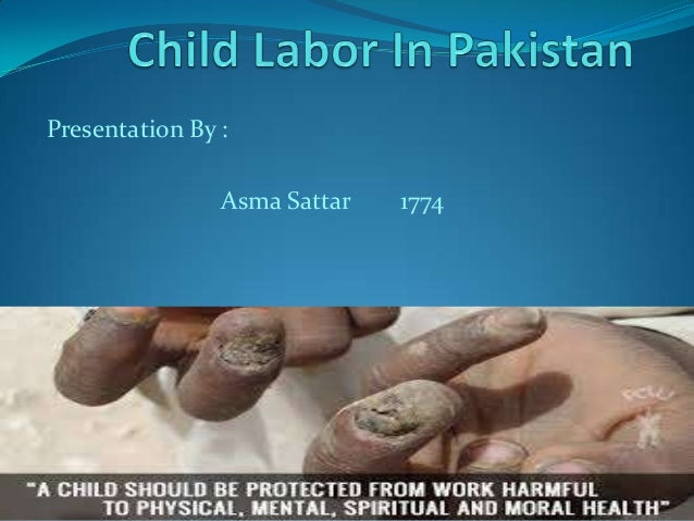 Report On Child Labour In Pakistan Essay - image 7