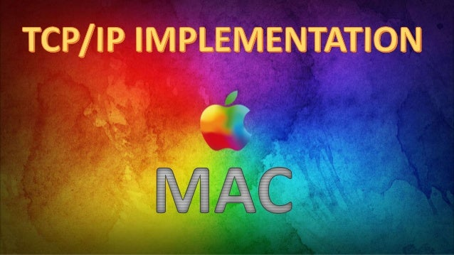 TCP/IP implementation in apple mac operating system.