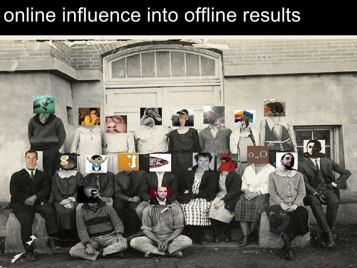 online  influence  into offline  results