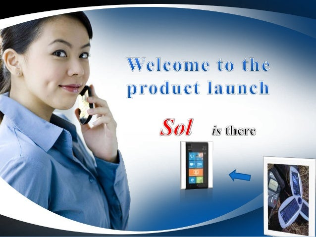 PPT on product launch of solar bettery