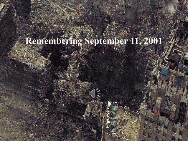 Remembering September 11, 2001