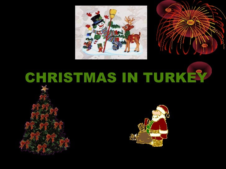 Presentation about christmas in turkey 1