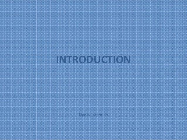 Presentation activities